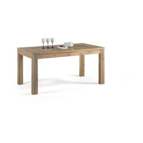 Esperanto stół rozkładany 160-260 cm dąb sękaty olejowany bianco