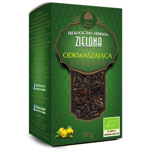 Dary natury - herbatki bio Herbata zielona odkwaszająca bio 80 g - dary natury (5902581616999)