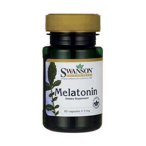 SWANSON Melatonina 3mg x 60 kapsułek