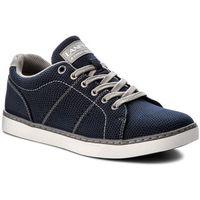 Sneakersy LANETTI - MP07-17073-04 Granatowy, w 4 rozmiarach