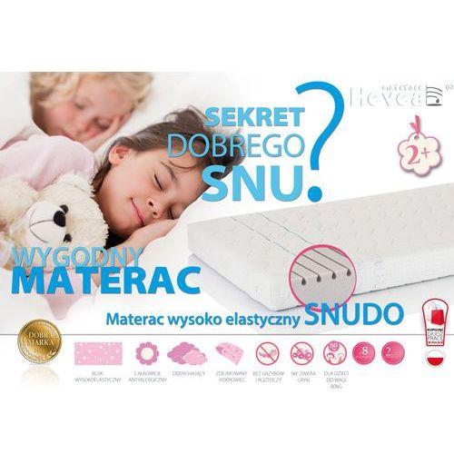 MATERAC WYSOKOELASTYCZNY HEVEA SNUDO 200x90 + rękawiczki gratis!!