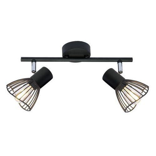 Candellux fly 92-61898 lampa punktowa 2x40w e14 czarny