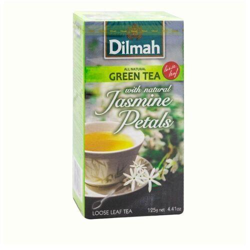 Dilmah Green Jasmin 125g herbata liściasta, DI.GR.JASM.125G.LIŚĆ