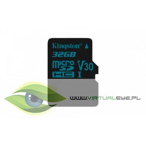 Kingston microsd 32gb canvas go 90/45mb/s uhs-i v30