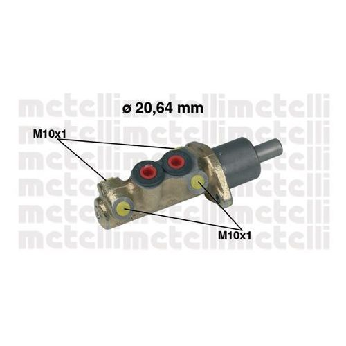 Pompa hamulcowa METELLI 05-0039