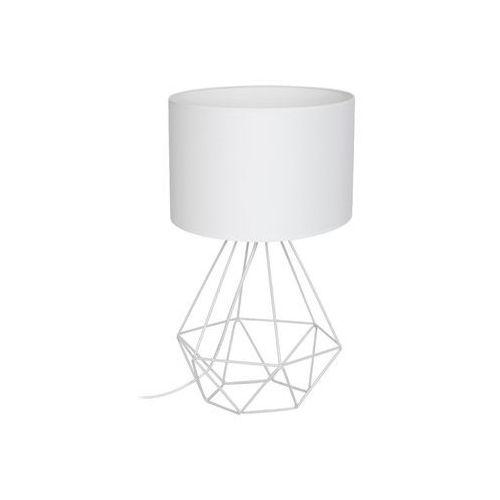 Lampa stołowa BASKET 1xE27/60W/230V biały (5907565971934)