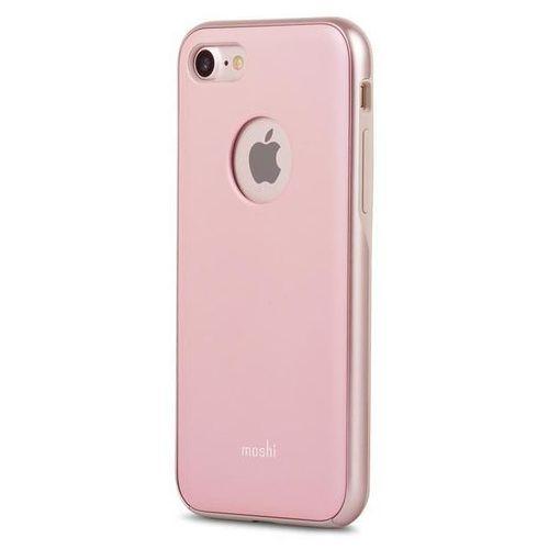 Moshi iGlaze - Etui iPhone 7 (Blush Pink) (4713057250385)