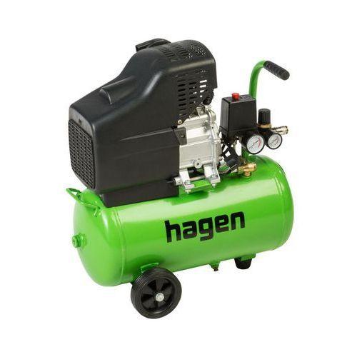 Kompresor olejowy HAGEN 24 l 8 bar TTDC24L (5909000829466)