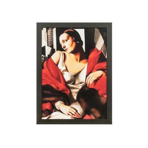 Obraz tamara łempicka portret pani boucard 56 x 76 cm marki Nielsen