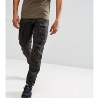 tall rovic zip cargo pants 3d tapered - black, G-star