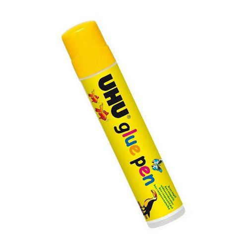 how to use uhu glue pen