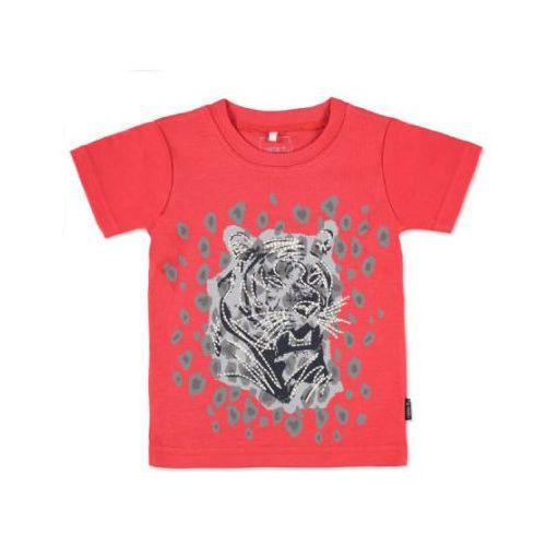Name it  boys mini bluzka z krótkim rękawkiem victor bittersweet, kategoria: bluzki dla dzieci