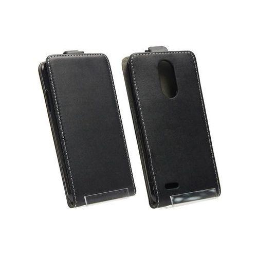 LG K8 (2017) - etui na telefon Forcell Slim Flexi - czarny, kolor czarny