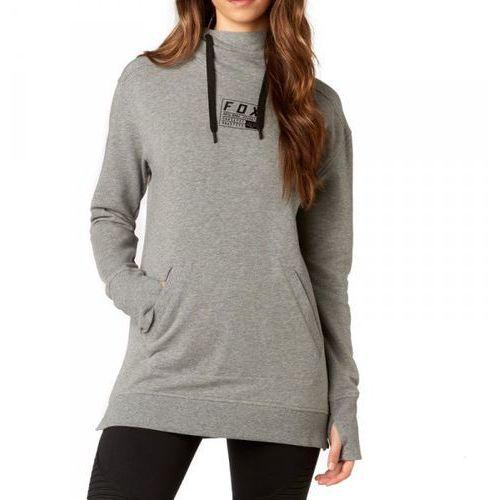 lady eager heather graphite bluza z kapturem marki Fox