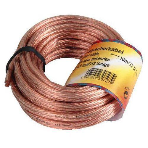 Przewód kabel głośnikowy 2x2.5 10m (307280000) darmowy odbiór w 21 miastach! marki Hama