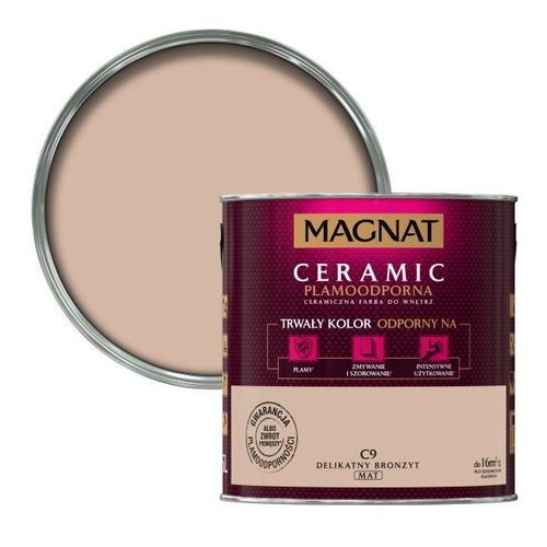 Farba magnat ceramic delikatny bronzyt 2,5 l marki Śnieżka