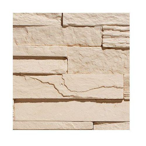 kamień dekoracyjny płytka creta 1 cream 50x20cm opk.1m2 marki Stegu