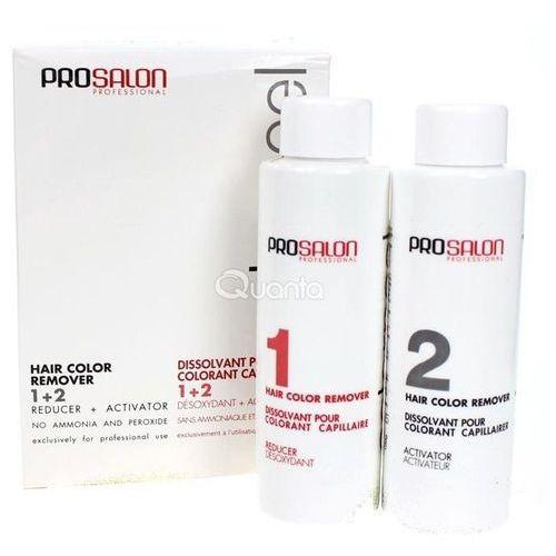 OKAZJA - ProSalon Color Peel Hair Color Remover 1+ 2 - Dekoloryzator do włosów, 2 x 100g z kategorii Koloryzacja włosów