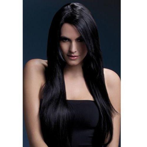 Czarna peruka wysokiej jakości