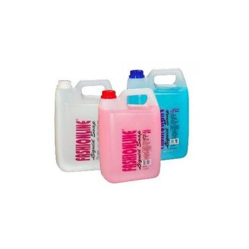 OKAZJA - Eu Mydło w płynie do rąk, ciała i włosów 5 l fashion linie różowe
