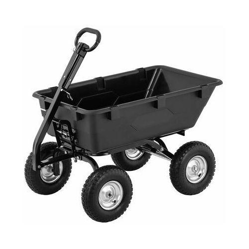 Hillvert wózek ogrodowy - 550 kg - uchylny - 150 l ht-q.bass-550 - 3 lata gwarancji