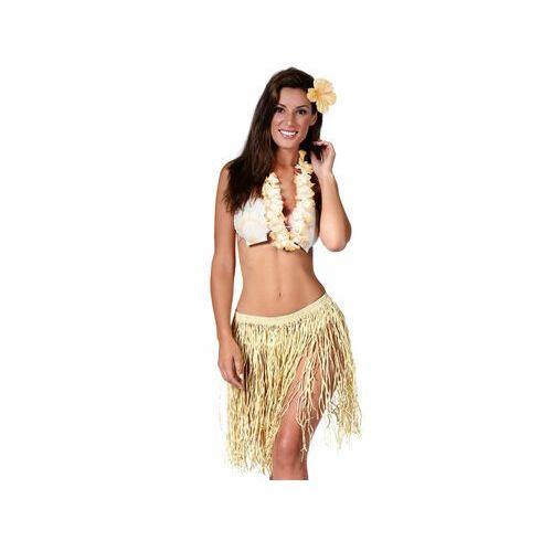 Zestaw - komplet hawajski słomkowy - 3 częściowy marki Guirca