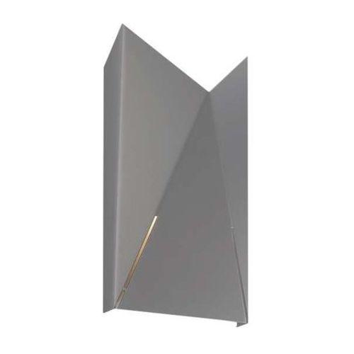 Kinkiet LAMPA ścienna AGI 4424/G9/SZ Shilo metalowa OPRAWA minimalistyczna szary, 4424/G9/SZ