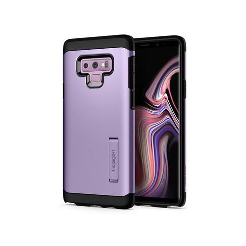 Etui Spigen Tough Armor Galaxy Note 9 Lavender +Folia sgp Neo Flex - Fioletowy