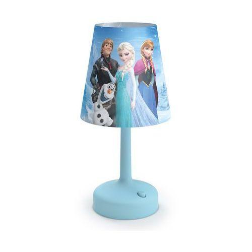71796/08/16 - lampa stołowa dla dzieci disney frozen led/0,6w/3xaa marki Philips