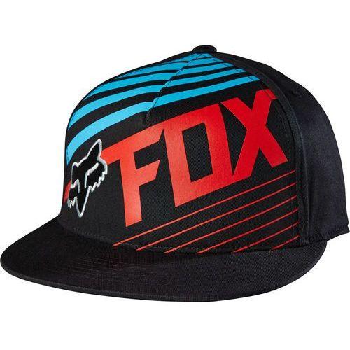 FOX czapka męska Solvent 210 Fitted S/M czarny, kolor czarny