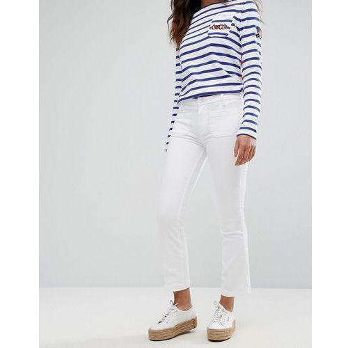 Hilfiger denim Tommy hilfiger como boot flare jeans - white