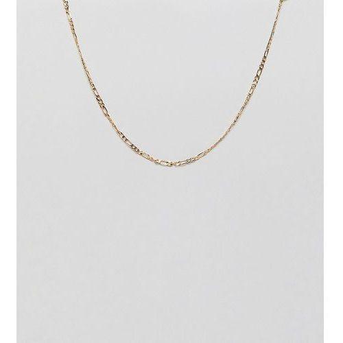 gold figaro chain necklace - gold marki Designb london