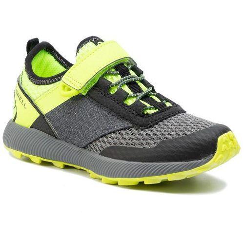 Sneakersy MERRELL - M-Morphisis MK261493 Black/Citron, kolor zielony