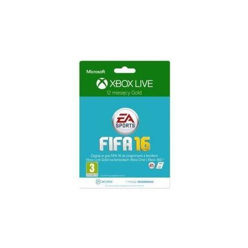 MS Xbox 12 months subscription Xbox Live Gold + 1M EA Access branding FIFA, 52M-00557