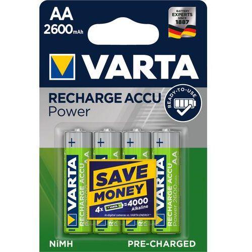 akumulator hr6/aa 2600mah ready2use 4 szt. - 5716101404 - artykuły spożywcze z szybką dostawą marki Varta