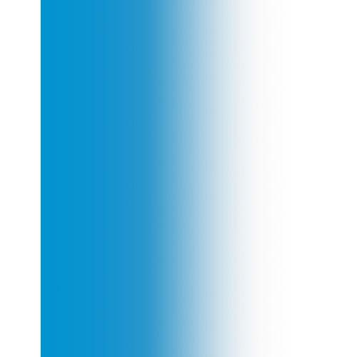 Colorama PVC cieniowane biało-niebieskie 1.1x1.6m z kategorii Tła fotograficzne