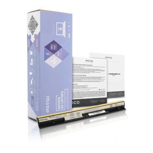 akumulator / Nowa bateria Mitsu do laptopa Lenovo IdeaPad G500s, G510s, Z710