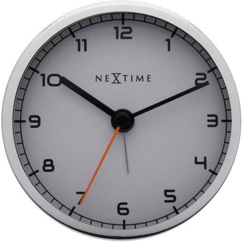 Zegar stojący Company Alarm, kolor biały