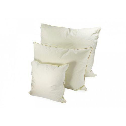 poduszka naturalna puchowa ecru daina 40 x 40 od producenta Frankhauer