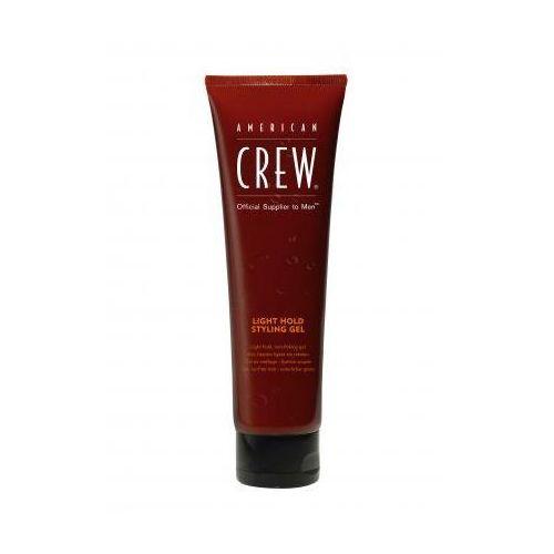 American crew classic light hold styling gel - żel do włosów lekko utrwalający w tubie 250ml