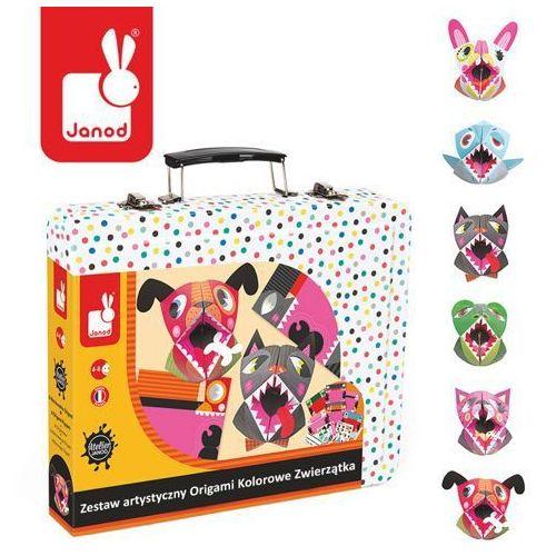 Zestaw artystyczny Origami Kolorowe zwierzątka - zabawki dla dzieci