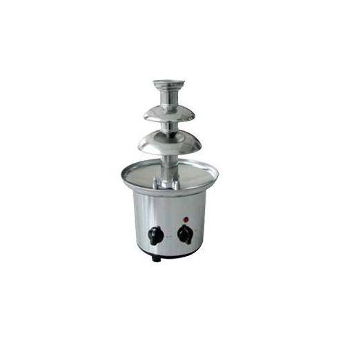 Czekoladowa fontanna chromowana   800 g   śr. 170w   220-240v   śr. 210x(h)400mm marki Optimal