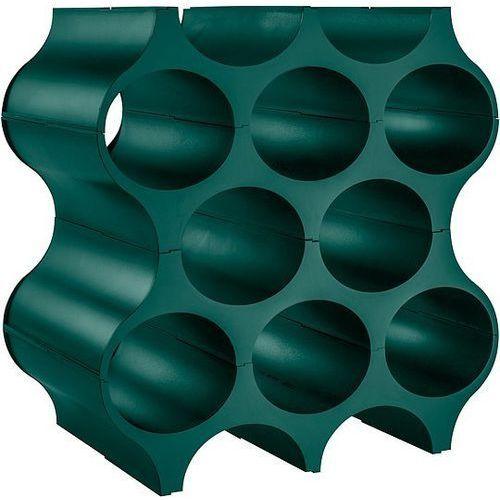 Koziol Stojak na butelki set up emerald (4002942412077)