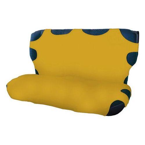 Pokrowce na tylną kanapę - żółte (5906961220615)