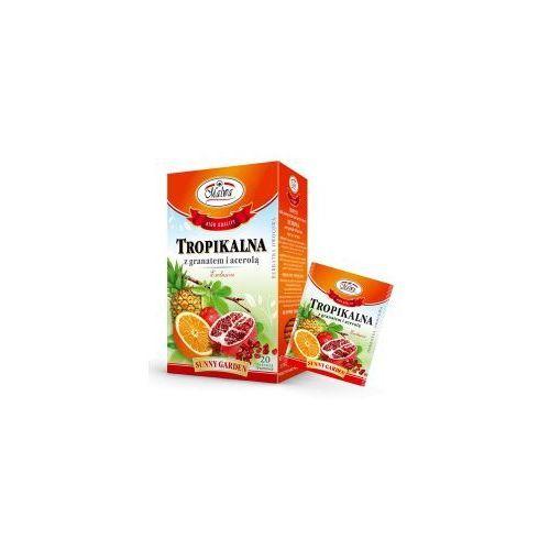 Herbata tropikalna + granat + acerola 20*2g MALWA, 34MALHERTG