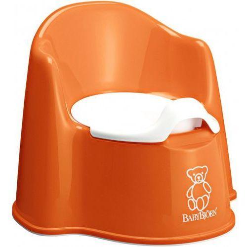 Babybjörn nocnik fotelik, pomarańczowy (7317680551702)