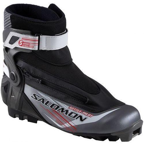 Buty narciarstwo biegowe active pilot 42 dł 26,5 cm marki Salomon