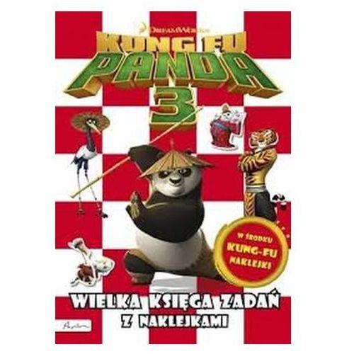 Kung Fu Panda 3. Wielka księga zadań z naklejkami Praca zbiorowa (9788327115218)