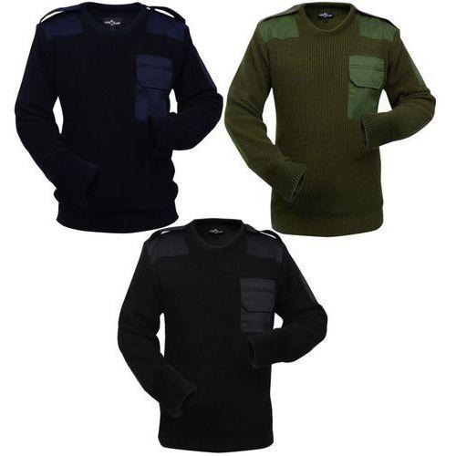 męskie swetry robocze 3 szt. niebieski, zielony i czarny, rozmiar m marki Vidaxl