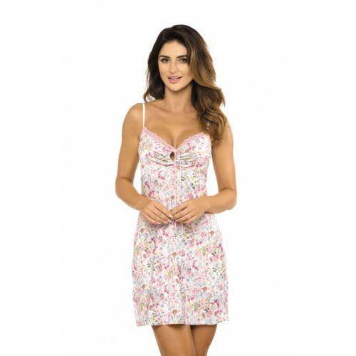 Koszula nocna model lucy k cream/pink marki Gorteks